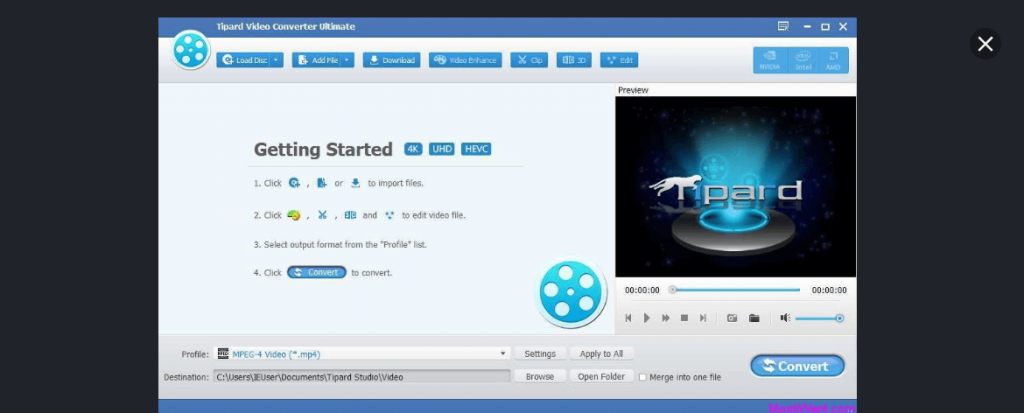 Tipard - Best Video Converter Software