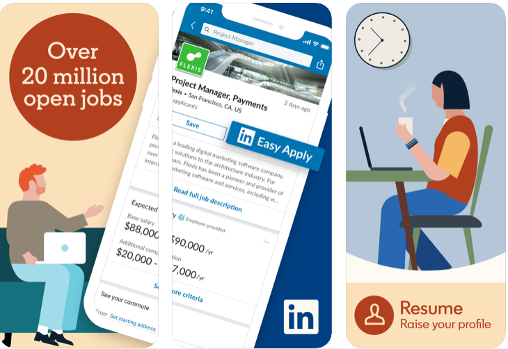 Linkedin - Best Free Professional Social Media App