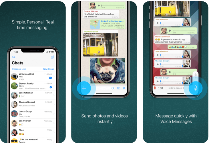 WhatsApp - Top Social Media Platform