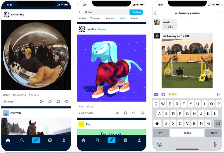 Tumblr - Social Media App