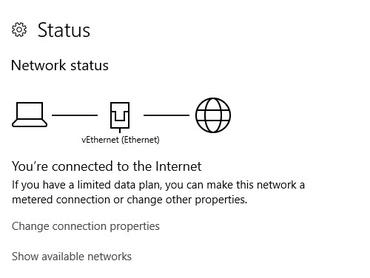 Establishing Network Connection to Set Up a New Windows 10 PC
