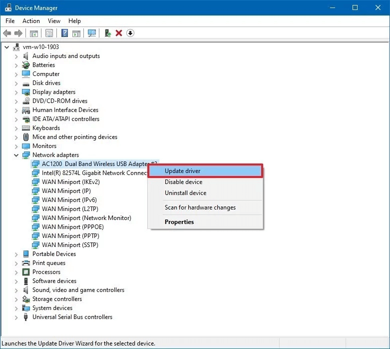 Update Your Drivers With the Device Manager