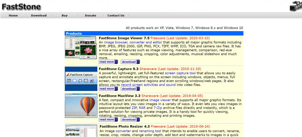 FastStone Image Viewer - Picasa Alternative