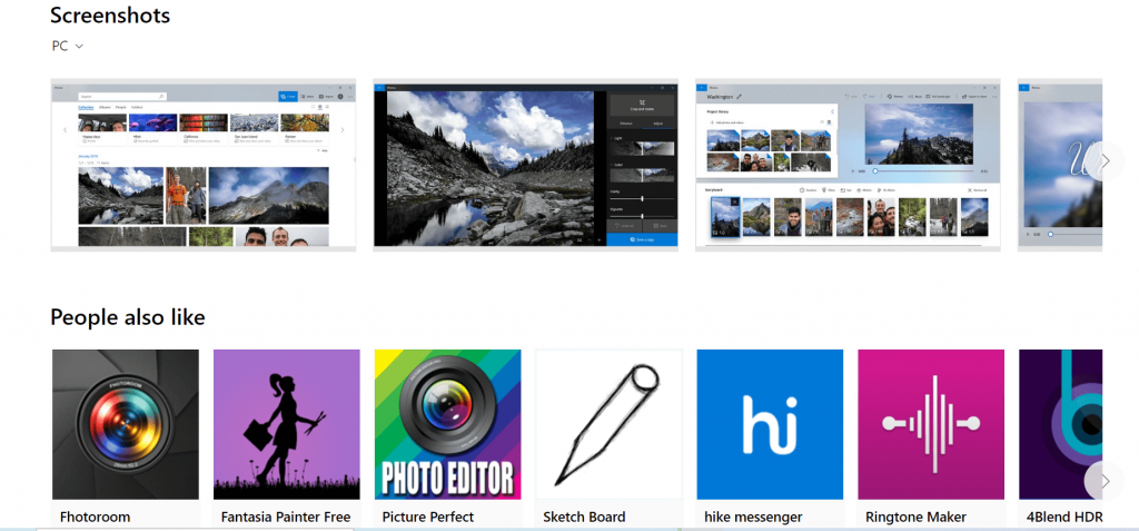 Microsoft Photos
