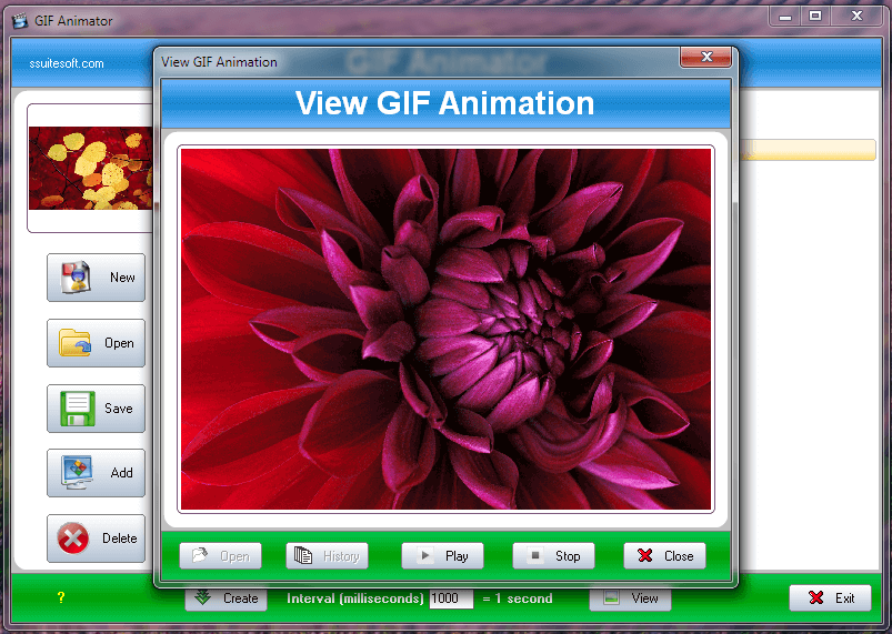 SSuite GIF Animator Software For Windows 2020
