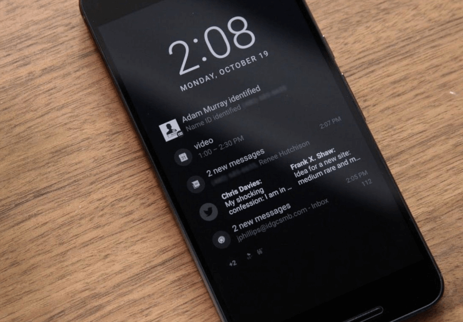 Disable Ambient Display Mode