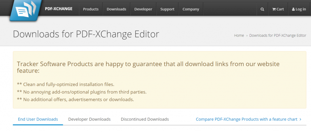 PDF-XChange Editor - Best Free PDF Editing Software