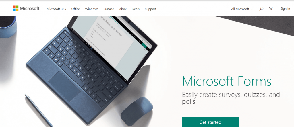 Microsoft Forms - Best Quiz Makers in 2020