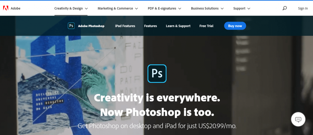 Adobe Photoshop - Best Photo Editors For Mac