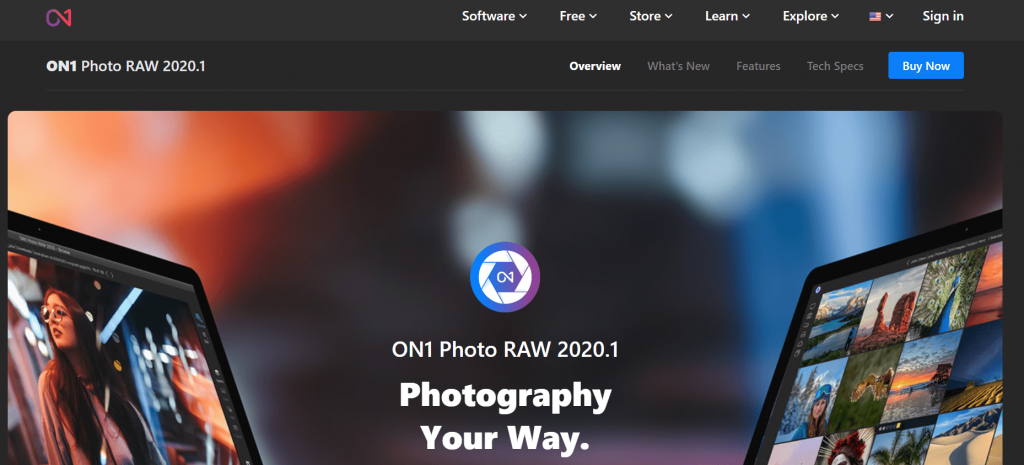 ON1 Photo Raw - Best Photo Editing Apps in 2020