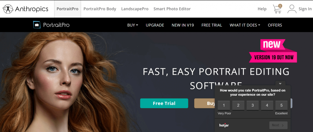 Portraitpro - Best Mac Photo Editing Tools