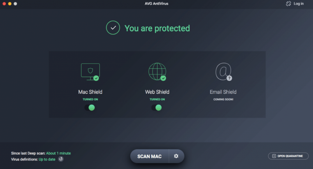 AVG Free AntiVirus for Mac
