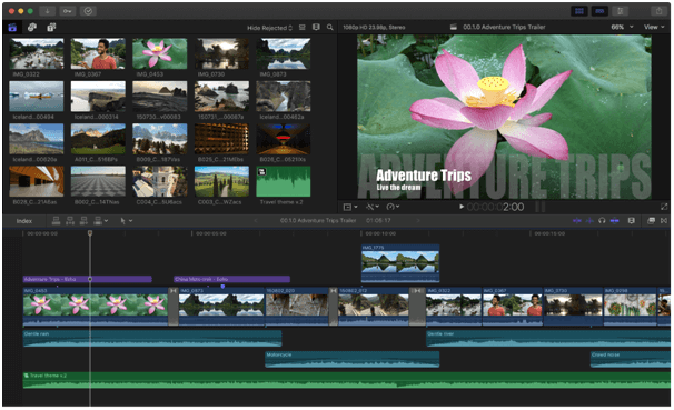 Final Cut Pro X - Best GoPro Editing Software