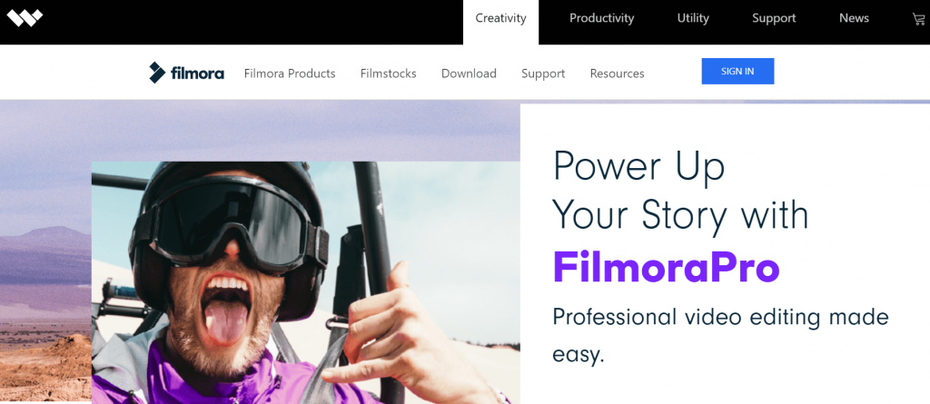 Filmora Pro - Best Whiteboard Animation Software