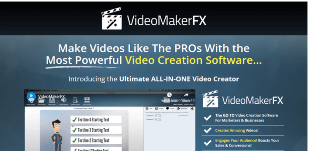 VideoMakerFX - Whiteboard Animation Software