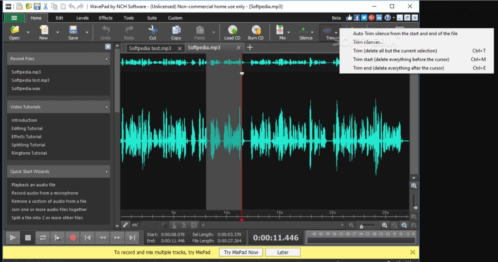 WavePad - Best Audio Recording Software