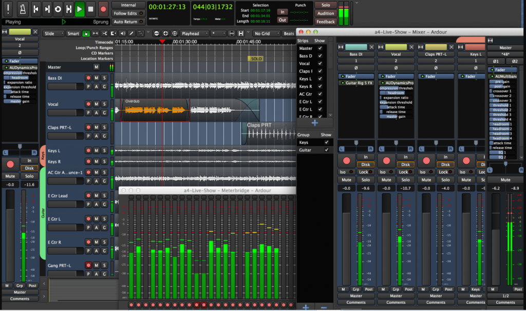 Ardour - Best Software For Audio Recording