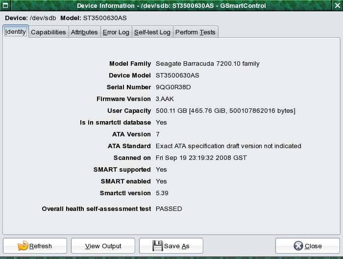 GSmartControl - Best Hard Disk Monitoring Tools