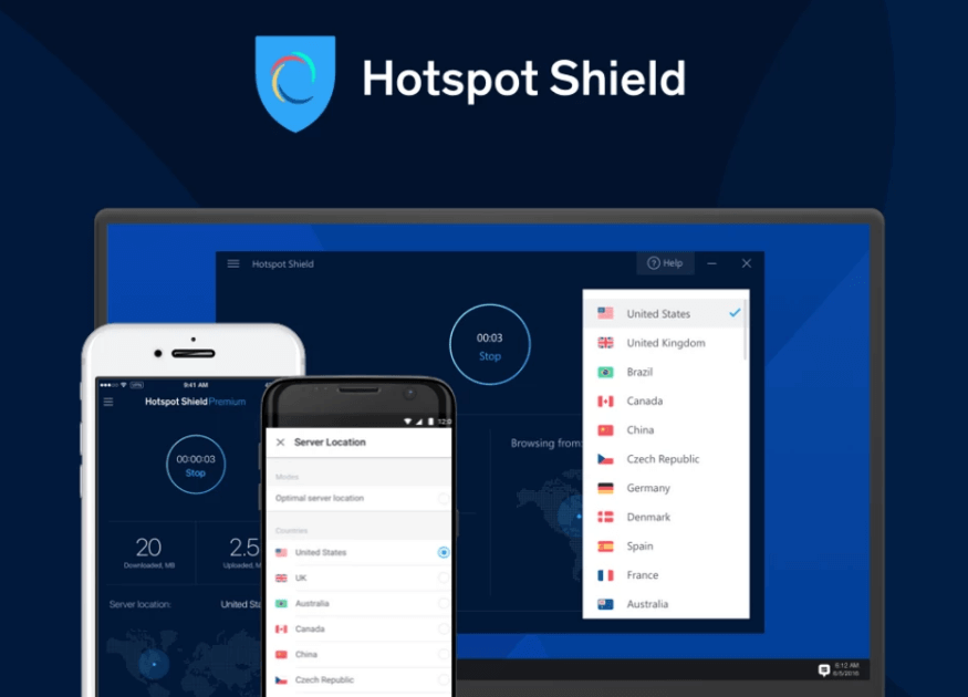 Hotspot Shield - Best Proxy Server For Windows