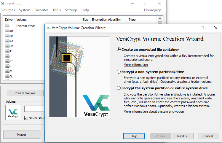 VeraCrypt - Best Encryption Software For Windows