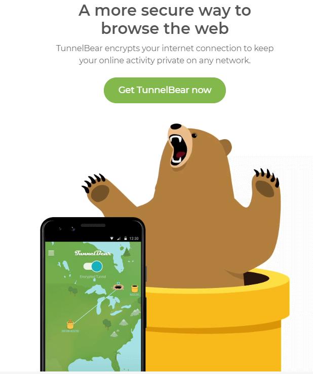 TunnelBear - Best Free VPN For Mac in 2020