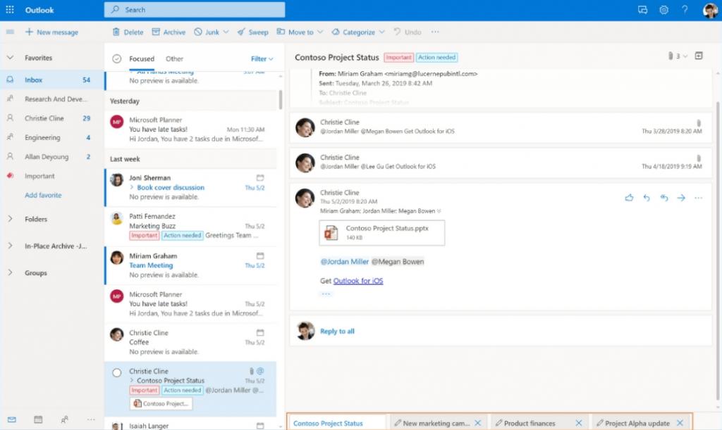 Microsoft Outlook - Best Email Program