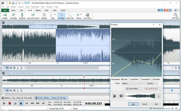 WavePad - Professional Audio Editing Software