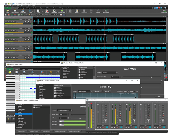MixPad - Best Audio Editing Software in 2020