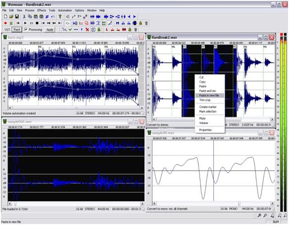 Wavosaur - Best Free Audio Editing Software