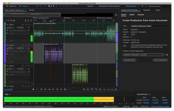 Adobe Audition - Audio Editing Software