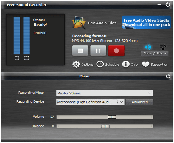 Free Sound Recorder Software For Windows