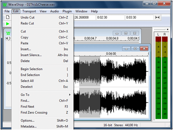 WaveShop - Audio Editing Software in 2020