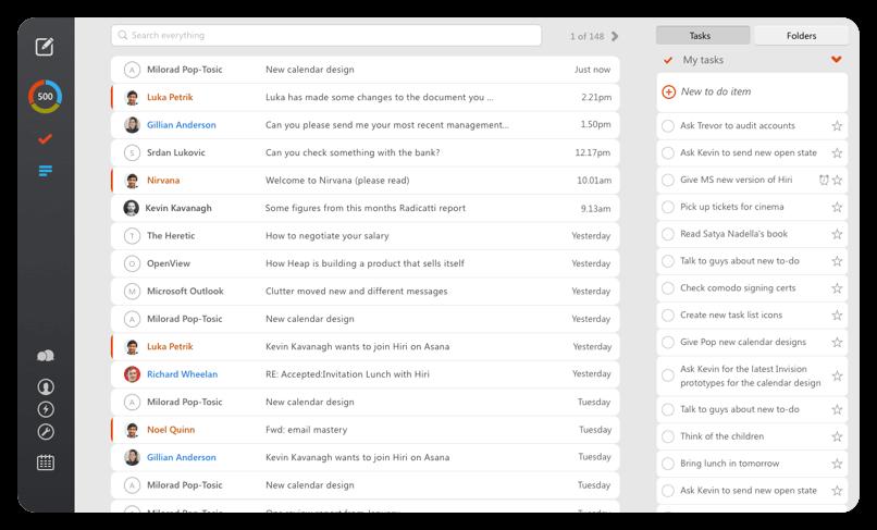 Hiri - Best Windows Email Client