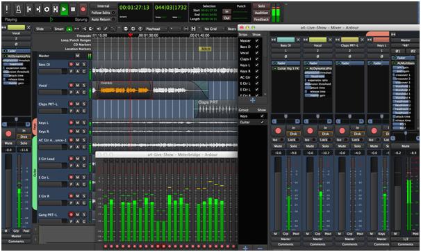 Ardour Software For Audio Editing