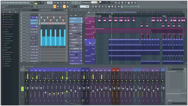 FL Studio - Best Free Audio Editing Software For Windows
