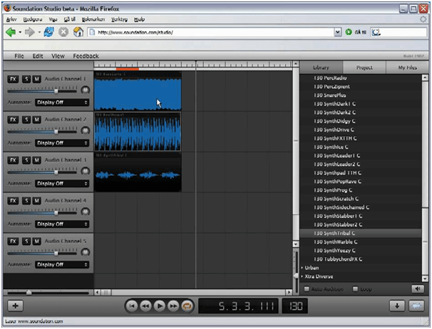 Soundation - Best Audio Editing Software