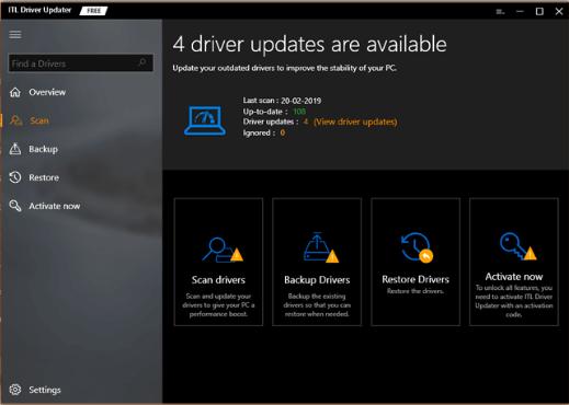 ITL Driver Updater - Best Driver Update Software