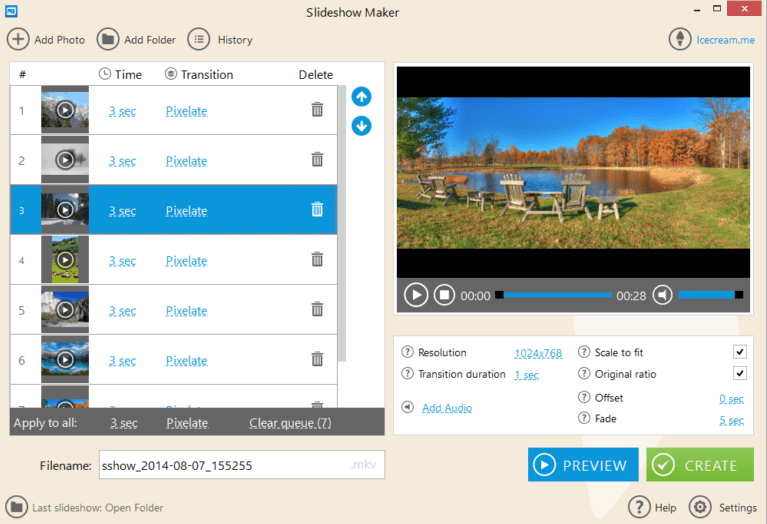 Slideshow Maker - Best Free Photo Slideshow Software
