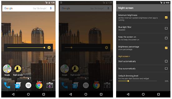 Night Screen - Screen Brightness Control Apps