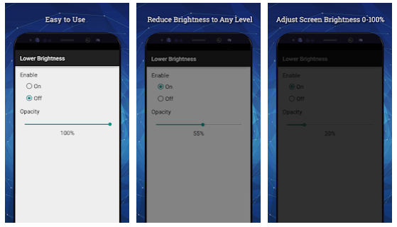Lower Brightness Screen Filter