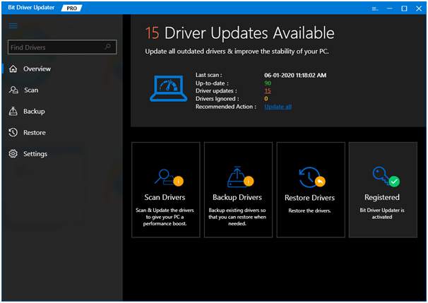 Bit Driver Updater - Best Driver Updater Software