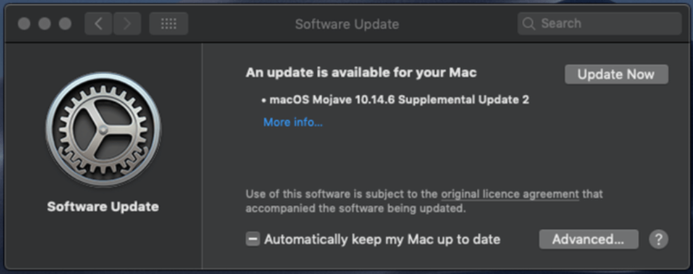 Update Your Device Regularly to Speed Up Your Mac