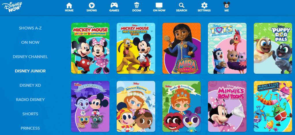 Disney Junior - Best Free Cartoon Streaming Site