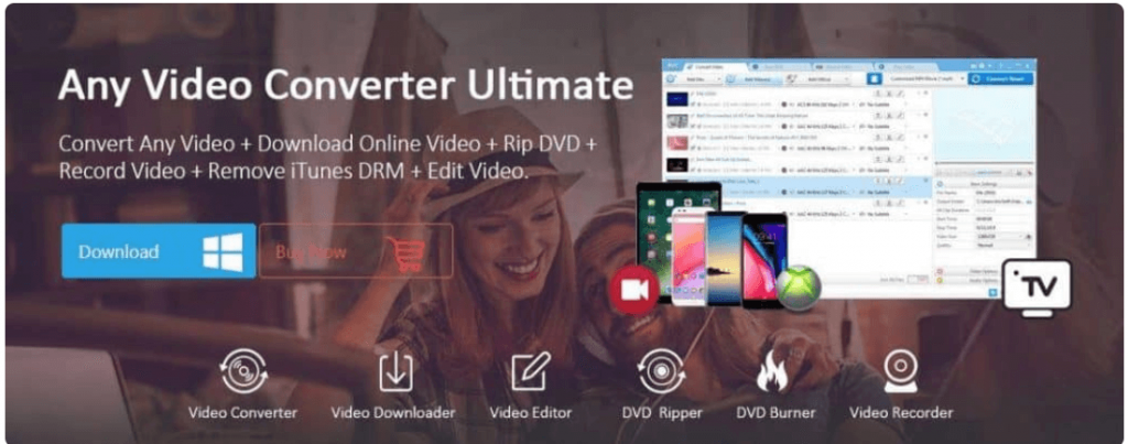 Any Video Converter Software