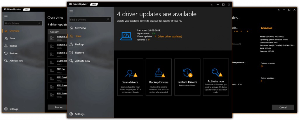 Solve Asus Touchpad Not Working issue through ITL Driver Updater Software