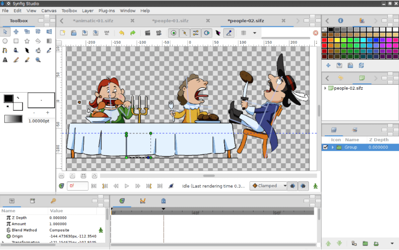 Synfig Studio - Best Free Animation Software Programs