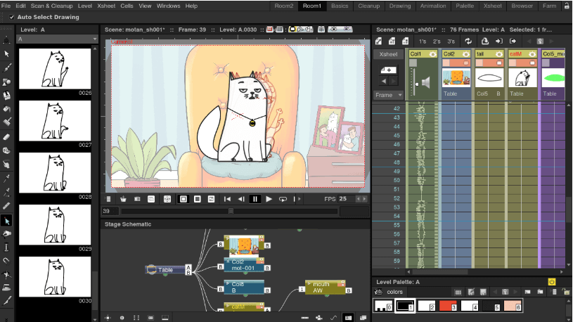 OpenToonz - Free Animation Software