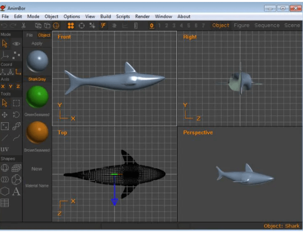 Anim8or - Best 3D Animation Software