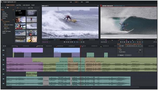 Phần mềm chỉnh sửa video LightWorks cho Mac