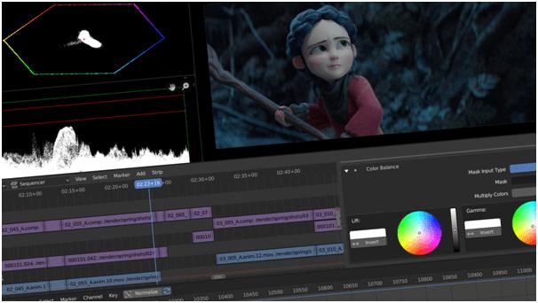Blender - Best Mac Video Editing Software